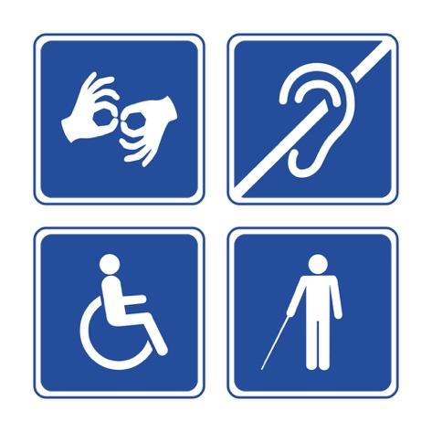 Toegankelijkheid iconen