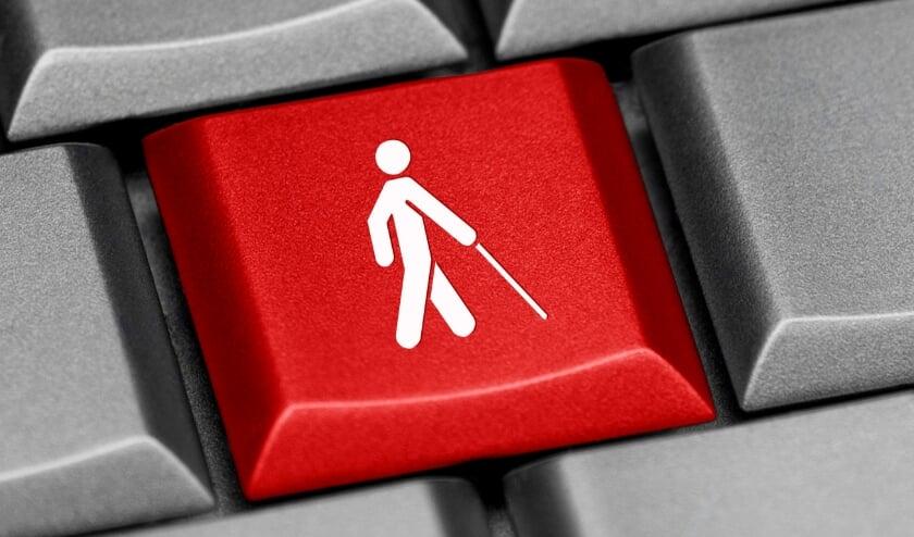 keyboard button visual disability